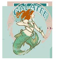 Galatée la sirène professionnelle