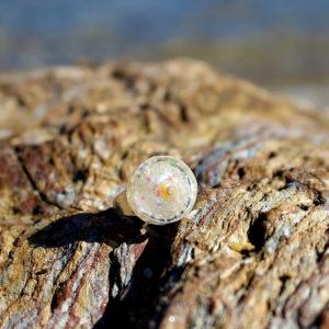 """Bague de sirène """"Colimaçon"""" - bagues de sirène - bijoux Galatée Merveilles - bijoux de sirène - bijoux coquillage - bijoux fantaisies"""