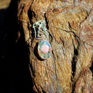 "Pendentif ""Cristal rose"" - bijoux galatée merveilles - pendentif de sirène - bijoux de sirène - bijoux coquillage - bijoux fantaisies - colliers de sirène"